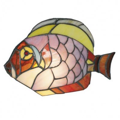 Tiffany, Tischleuchte Fisch...