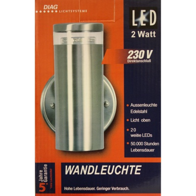 Outdoor LED-Licht 1x20LED /...