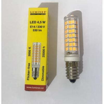 LED stmívatelná žárovka E14...