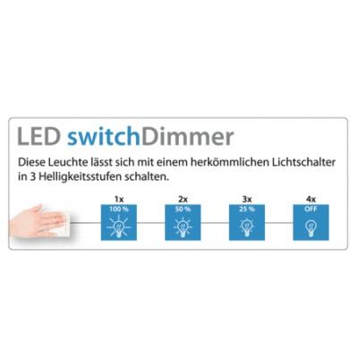 4W/ 470Lm/ 2700K/ switch-dim