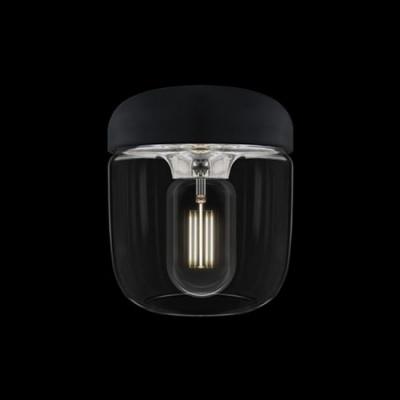 Acorn black polished steel...