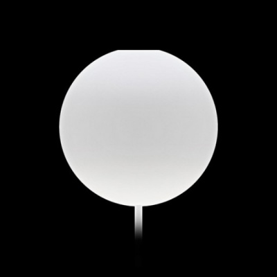 Cannonball white Ø 12cm L...