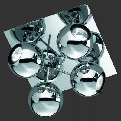 Stropní svítidlo 4x35W kov
