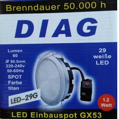 Ausverkauf – LED Einbauspot...